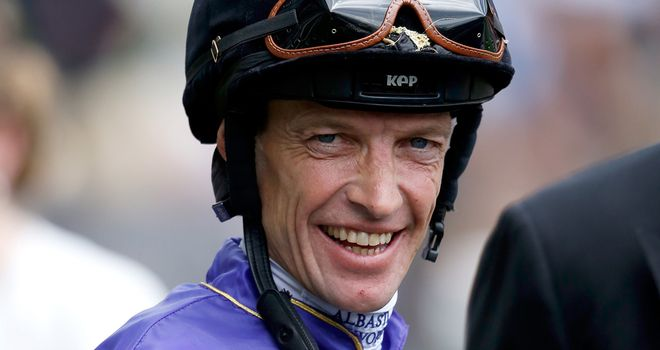 Richard Hughes has saddled his first winner as a trainer