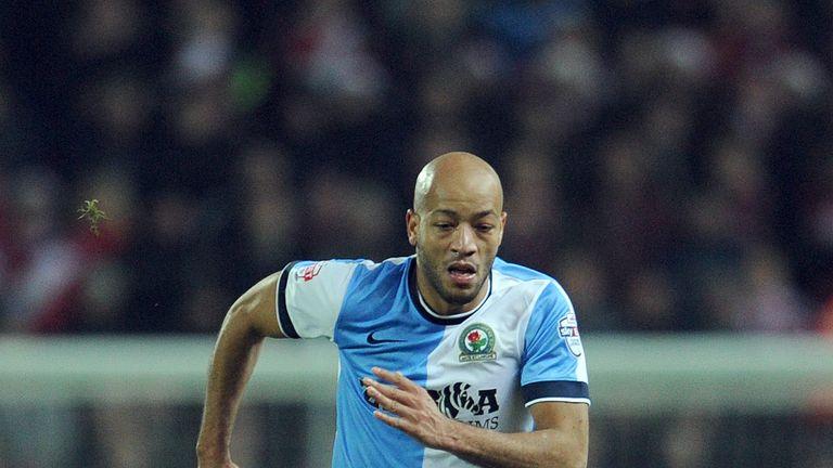Alex Baptiste finished last season on loan with Blackburn