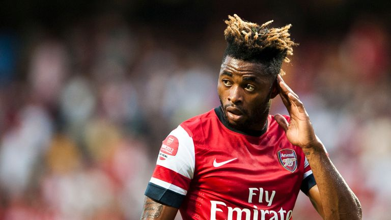 Alex Song created plenty from a deep role with Arsenal