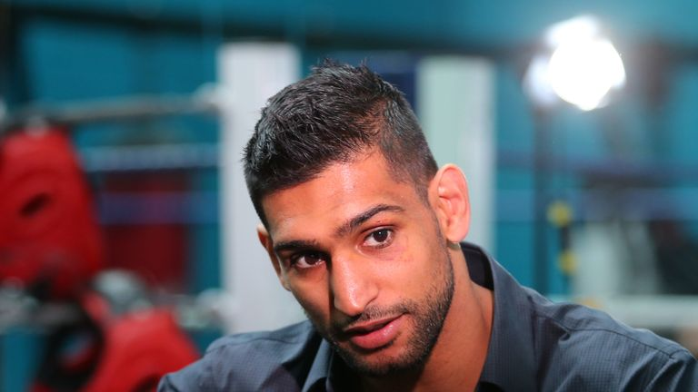 Amir Khan could be ready to discuss Kell Brook clash
