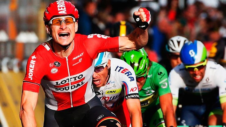 Andre Greipel won the final stage in Paris