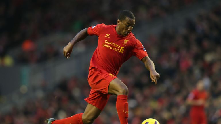 Andre Wisdom in action against Norwich in 2013