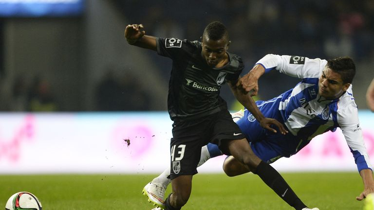 Bernard Mensah (L) is moving to Atletico Madrid but will spend next season on loan with Getafe