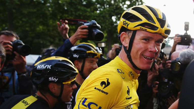Chris Froome won the Tour de France for a second time on Sunday