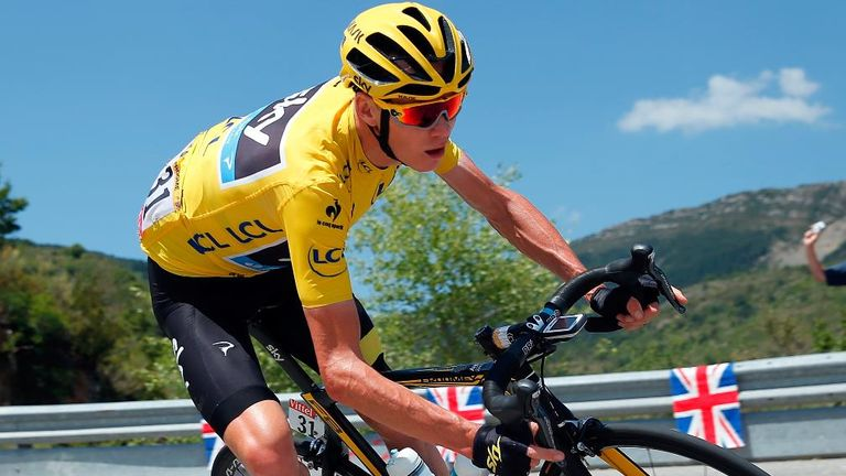 Chris Froome retained his 3min 10sec lead of the Tour de France on stage 17