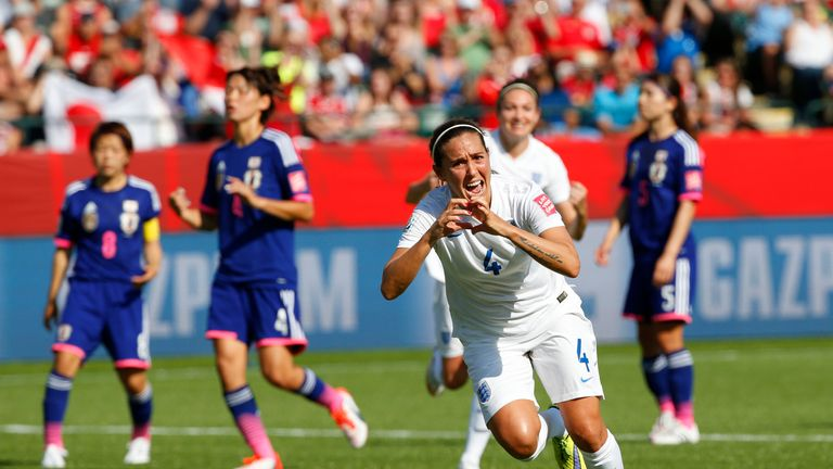 Fara Williams scored from the spot for England in the semi-final