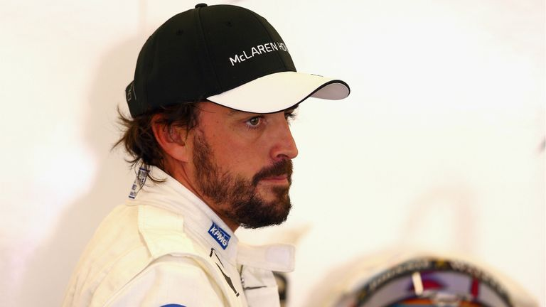 Alonso expressed his frustrations with the Honda engine over the radio in Japan