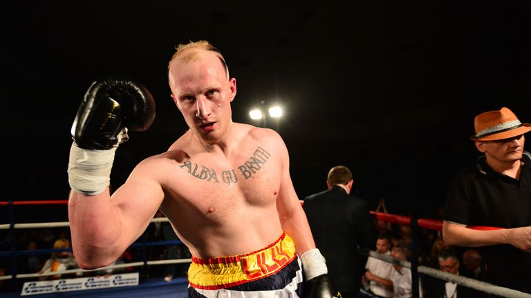 Gary Cornish is yet to suffer a defeat in 21 fights