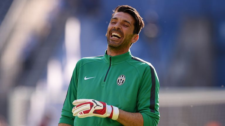 Gianluigi Buffon is still first choice for Juventus at 37 years old