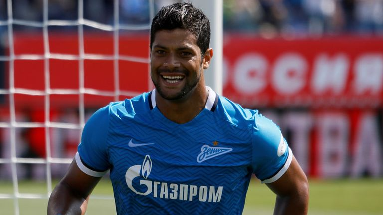 Hulk has club commitments with Zenit St Petersburg this weekend
