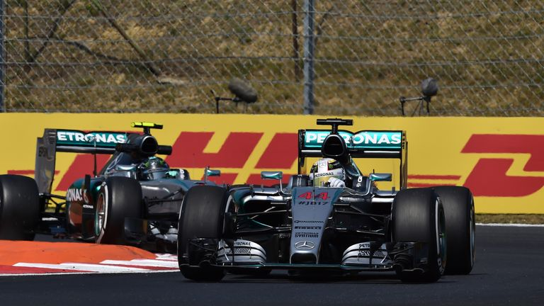 Nico Rosberg: Wanted to cover off Lewis Hamilton in Hungary