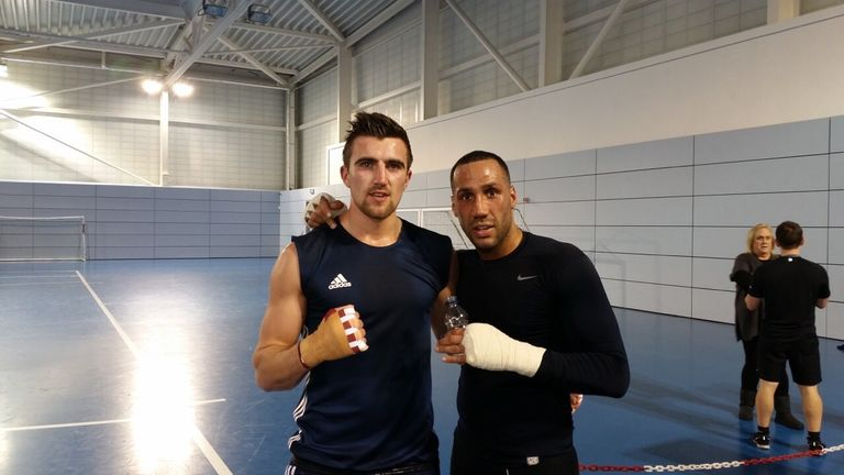 Jake Ball has been honing his craft with world champ James DeGale