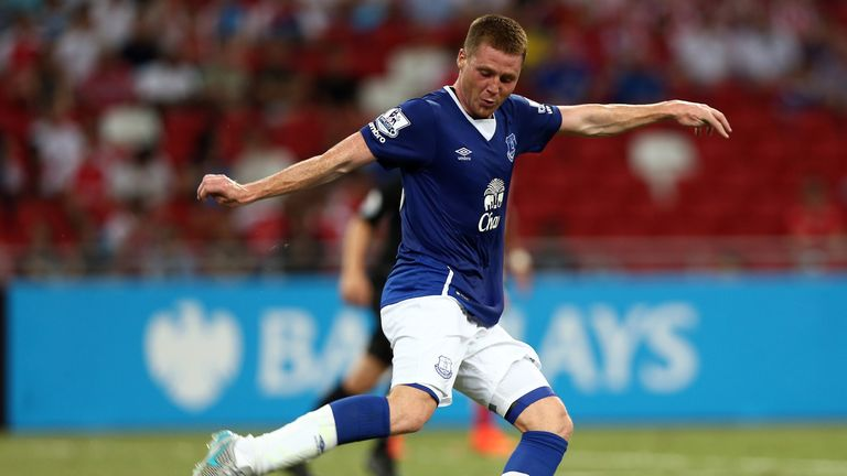 Everton are planning to keep James McCarthy at the club