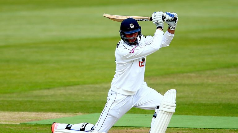 James Vince, of Hampshire, has been earmarked as a future Test batsman