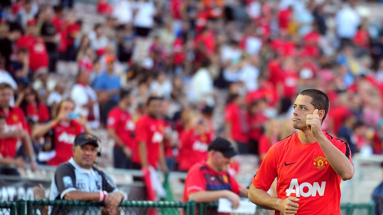 Javier Hernandez is back in the fold at United