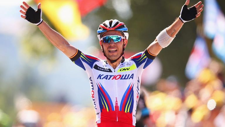 Joaquim Rodriguez won two stages of the Tour