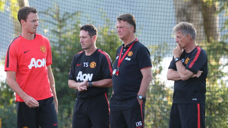 Jonny Evans has been linked with a move away from Old Trafford