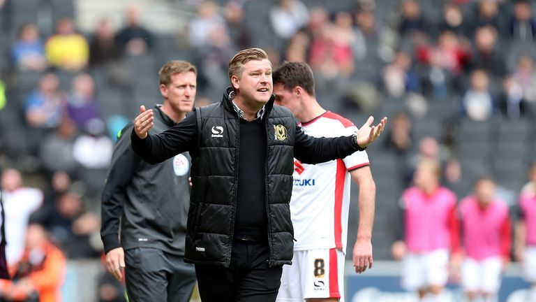 MK Dons manager Karl Robinson puts huge trust in his scouts