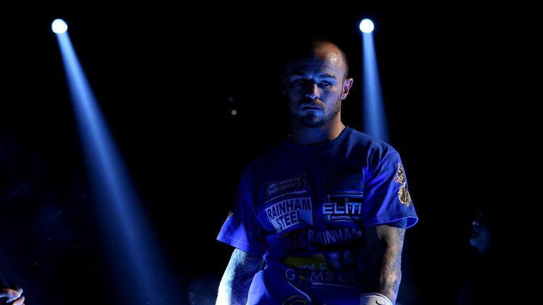 Kevin Mitchell: Hopes to face winner of Perez v Crolla
