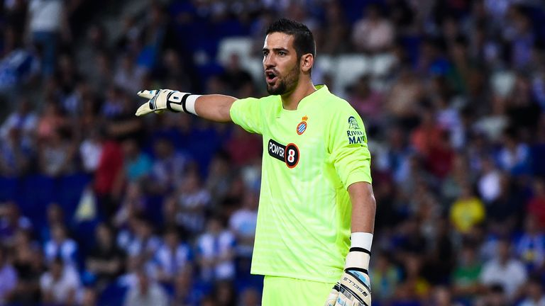 Kiko Casilla is expected to be Real's back-up goalkeeper