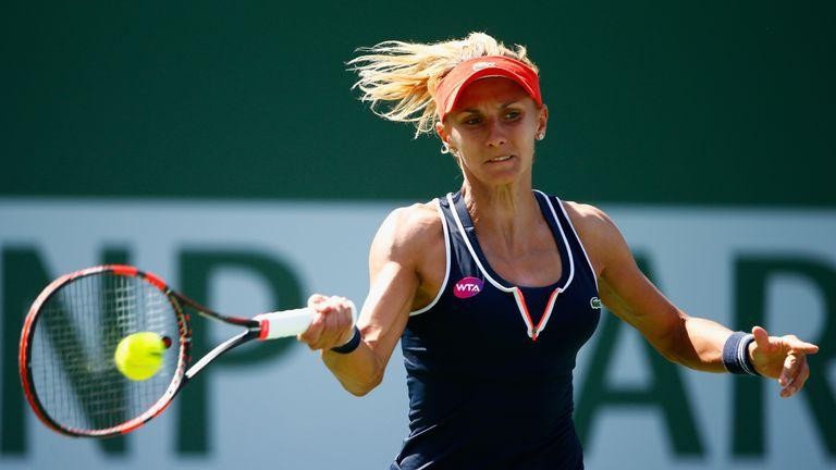 Lesia Tsurenko won her first WTA title after defeating Urszula Radwanska to win the Istanbul Cup