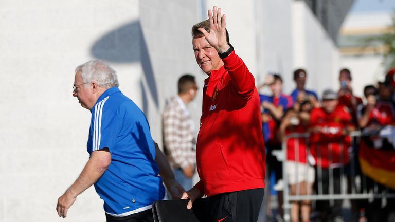 Van Gaal is adamant he will wave goodbye to football when his current contract expires