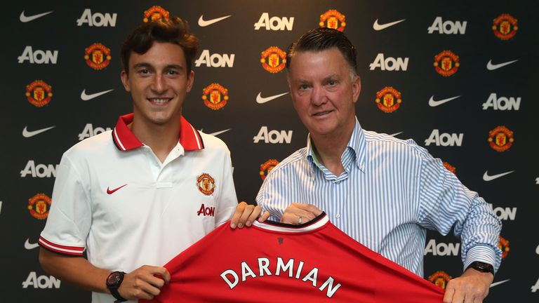 Matteo Darmian has joined United from Torino
