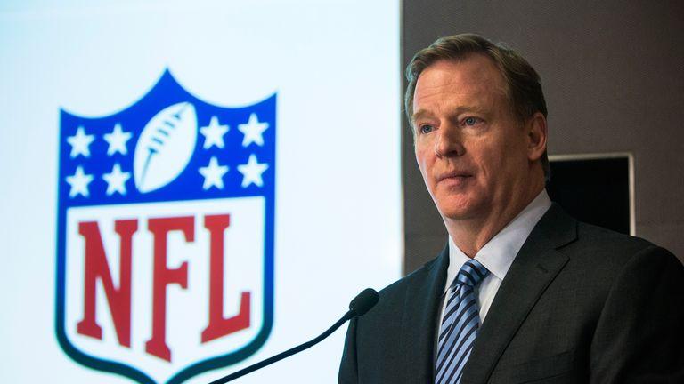 Roger Goodell: The NFL Commissioner upheld Tom Brady's four-game ban.