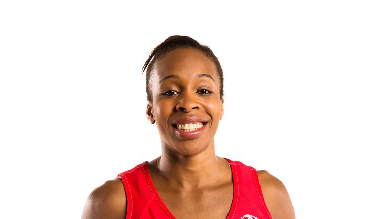 Pamela Cookey had an excellent game for England in their final warm-up match before the Netballl World Cup