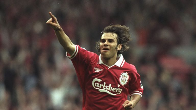 Patrik Berger won six trophies in seven years as a Liverpool player