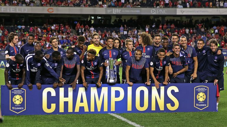 PSG: Clinched 2015 International Champions Cup