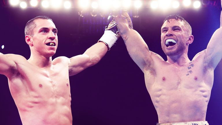 Scott Quigg and Carl Frampton are edging closer to a world title unification clash