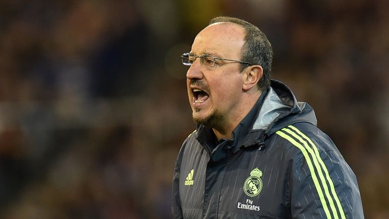Rafael Benitez took over as Real Madrid coach this summer following the departure of Carlo Ancelotti