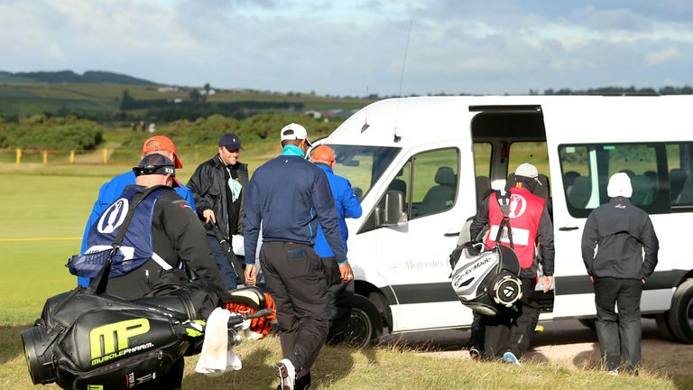 the 144th open will finish on monday after further weather delays at st andrews