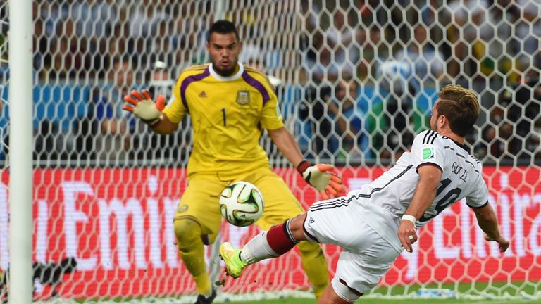 Romero played for Argentina in last year's World Cup final