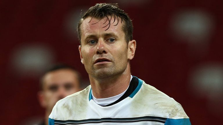 Shay Given has added experience to the Stoke squad