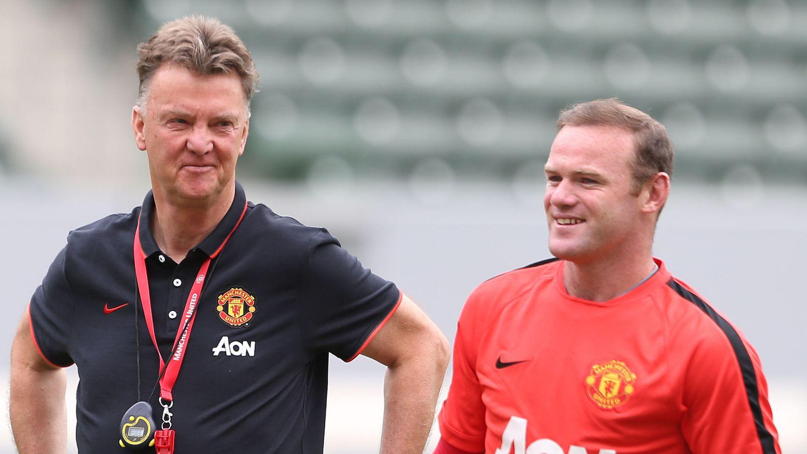 Wayne Rooney insiste en que Louis van Gaal fue despedido por Man Utd demasiado pronto, ¿tiene razón? El   Noticias de futbol 33