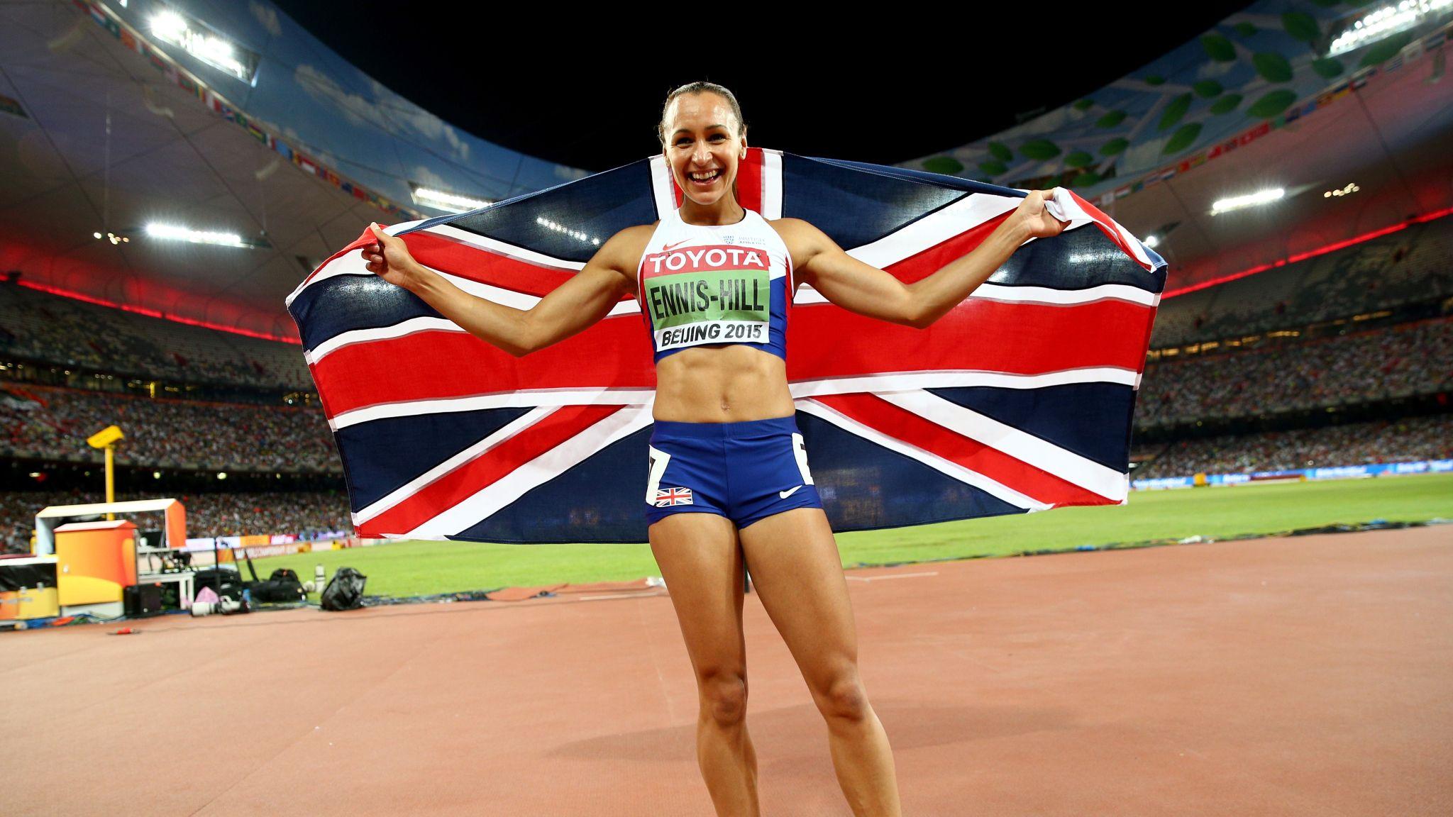Jessica Ennis-Hill wins heptathlon gold at World
