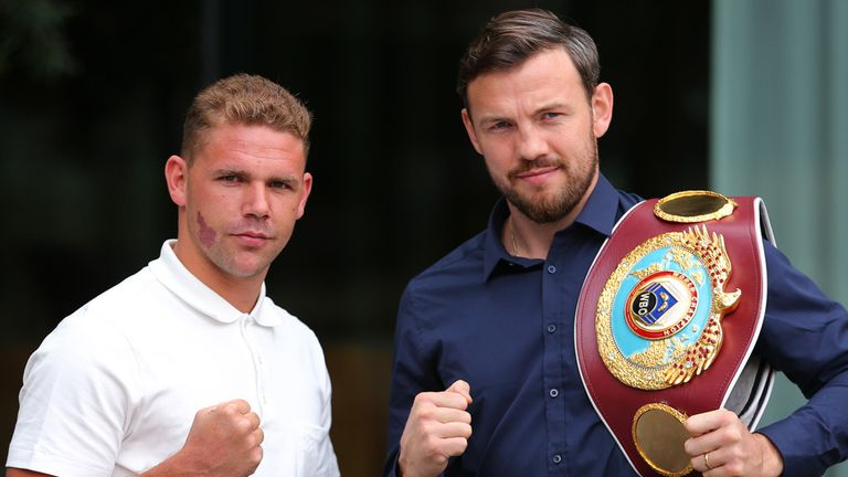 Lee still hopes to defend his tilte against domestic rival Billy Joe Saunders