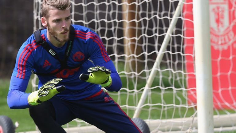 David de Gea has not played in any of Manchester United's five competitive games this season