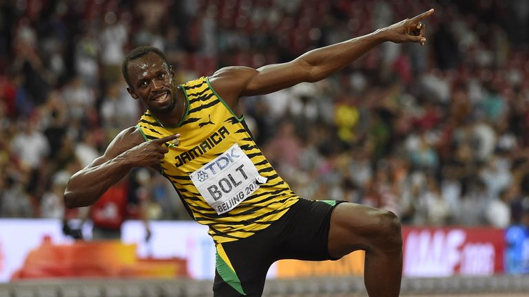 Bolt suffered a hamstring tear at the Jamaican Olympic trials on Friday