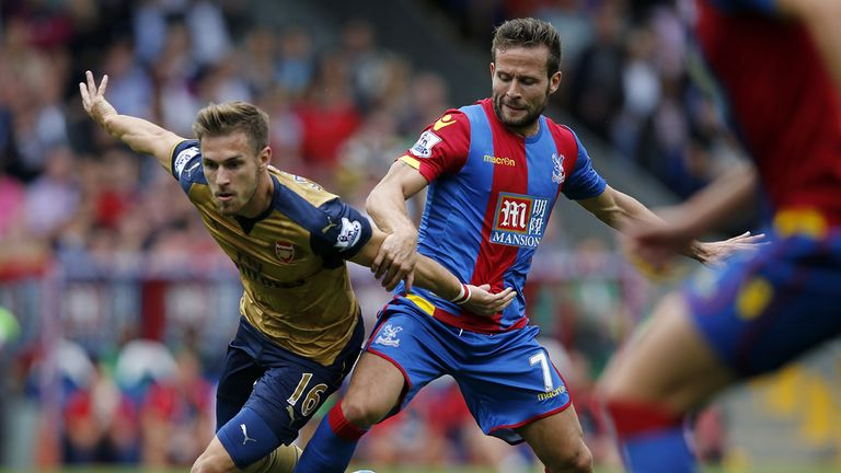 Crystal Palace's Yohan Cabaye and Arsenal's Aaron Ramsey have also impressed