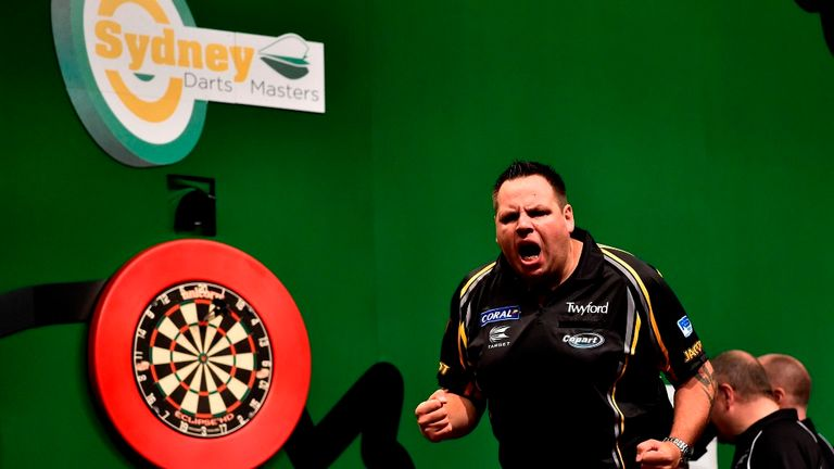 Adrian Lewis (pictured) was no match for Taylor in a one-sided final