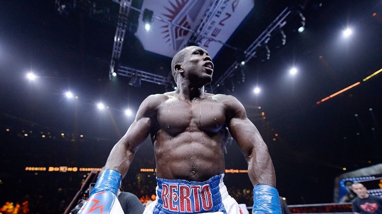 Andre Berto - Mayweather's next - and final? - opponent