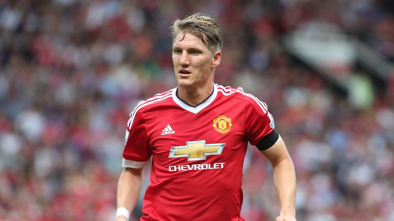 Bastian Schweinsteiger became the first German to play for Manchester United