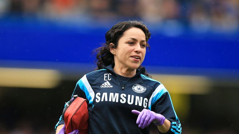 Eva Carneiro started working at Chelsea in 2009