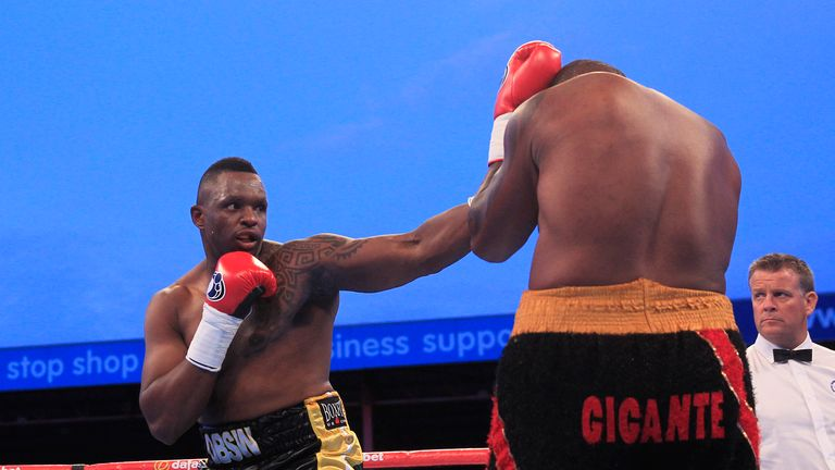 Fellow undefeated heavyweight Dillian Whyte will also be in action