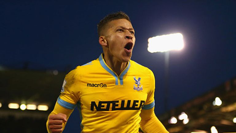 Dwight Gayle has scored 18 league goals since joining Crystal Palace in 2013