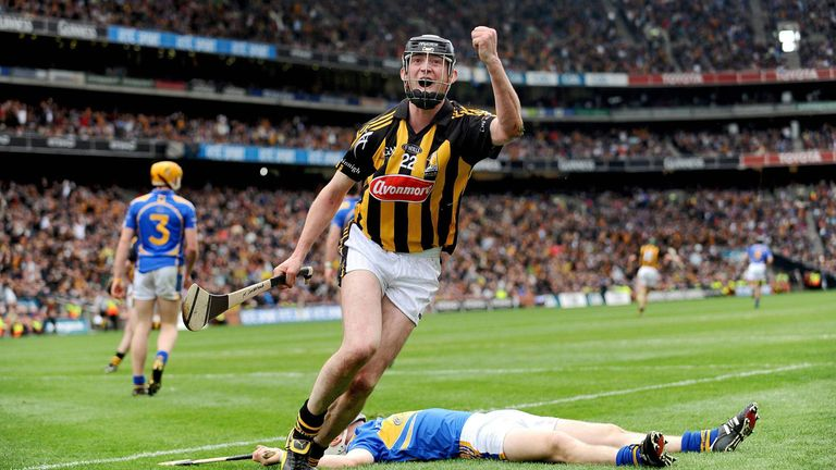 Martin Comerford finds the net during Kilkenny's 2009 All-Ireland final win over Kilkenny