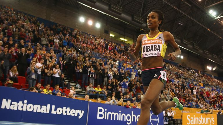 Dibaba has traditionally been at her best indoors but is now extending her dominance to outdoor racing